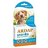 ARDAP Spot On - Zecken & Flohschutz für Hunde unter 10kg - Natürlicher Wirkstoff - Bis zu 12 Wochen nachhaltiger Langzeitschutz