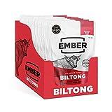Ember Biltong - Beef Jerky Chilli - Proteinreicher Snack - Chili (10 Stück)