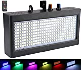 Stroboskop Licht 270 LED, Latta Alvor Party Disco Lichter Bühnenbeleuchtung Flashing Strobe Lampe für DJ Beleuchtung Lichteffekte Auto Sound RGB (RGB)