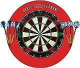 Bull´s & Shot Dart Bristle Turnier Dartboard Dartscheibe Set Darts Team Germany Max HOPP & Martin Schindler Starterpack
