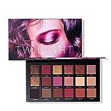ROMANTIC BEAR 18 Farben Schimmer Matt Pigment Lidschatten Palette Nude Beauty Make-up (18 Farben-1)