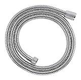 GROHE Relexaflex Metall Longlife Brausen und Duschsysteme (Metallbrauseschlauch 1500, 1,5 mm) chrom, 28143000