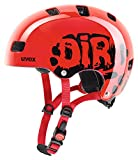 Uvex Kinder Fahrradhelm Kid 3, Rot (Dirtbike Red), 55-58 cm