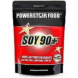 SOY 90+ | Soja Protein Isolat | 93% Protein i.Tr. | Vegan | Laktosefrei | Köstlicher Geschmack | Gentechnisch unverändert | Frei von Phytoöstrogenen | 1000g | Made in Germany | Chocolate
