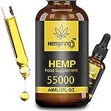 Prämie Öl Tropfen - Natürliches Öl, Vegan | Hohe Festigkeit, Große Flasche Hochdosiert (87%/60ML)