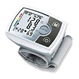 Sanitas SBM 03 vollautomatisches Handgelenk-Blutdruckmessgerät, mit Pulsmessung, inkl. Aufbewahrungstasche