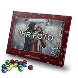 printplanet - Adventskalender mit eigenem Foto Bedrucken Lassen - Weihnachtskalender mit Schokolade mit Foto individuell Gestalten - Rahmen 3-2020