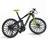 Cicony Finger Mountainbike, Metallfahrrad Modell 1:10 Modell Radfahren Diecast Toy Desk Craft Collection