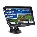 GPS Navigation für Auto, Navigationsgerät Landkarte CARRVAS 7 Zoll Navi für LKW und EU 2020 Neueste Karten Spracherinnerung POI Spurassistent und Karten Update Lebenslanges Kostenlos