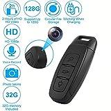 Versteckte Spion Kamera, 1080P HD Mini Spionagekamera Lochkamera Überwachungskamera mit 32G TF-Karte, Unterstützt bis zu 128G hohe Kapazität/Loop-Aufnahme/Aufnahme während des Ladevorgangs