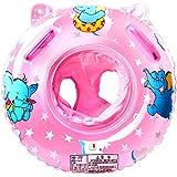 StillCool Baby Schwimmring aufblasbare Schwimmen Float mit Schwimmsitz für Kleinkind Schwimmhilfe Spielzeug 6 Monate bis 36 Monate (Rosa).