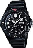 Casio Collection Herren-Armbanduhr MRW 200H 1BVEF, schwarz/Rot