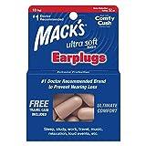 Mack's Ultra weiche Schaumstoff-Ohrstöpsel, 10 Paar