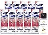 Snup Schnupfenspray Nasenspray 0,1% 15 ml Sparset - 10 x 15 ml inkl. einer pflegenden Handcreme oder Duschbad von Pharma Nature
