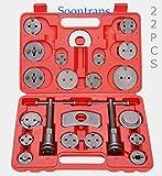 22tlg Bremskolbenrücksteller Satz, Bremsenrücksteller Werkzeug für Alle Gängigen Automarken
