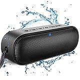 LENRUE Bluetooth Lautsprecher, 14W IPX7 Wasserdicht Lautsprecher Außen Musikbox mit Rich Bass, 24H Spielzeit, Mikrofon, 100ft Reichweite, Kabellos Lautsprecher für iPhone Laptop Camping BBQ Party