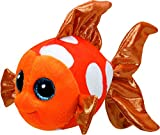 Carletto Ty 37176 Sami Orange Fish Plüsch, Black/White