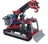 fischertechnik Pneumatic Power - der Pneumatik Spielzeug Bagger & 4 weitere Modelle von fischertechnik garantieren Spielspaß - Bergungsraupe, Stanzmaschine, Werkstattkran & Funktionsmodell -ab 8 Jahre