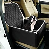 Toozey Hunde Autositz für Kleine Mittlere Hunde, [DAS ORIGINAL] Rückbank Vordersitz Hundesitz, Wasserdicht Autositzbezug mit Verstärkte Wände, Extrem Langlebig & Einfach zu Installieren