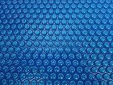 OKU Solarfolie 400µm Rechteck 7,00 x 3,50m Poolabdeckung Schwimmbadfolie Luftpolsterabdeckung