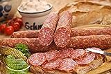 Die Weltmeister Wurst! Ahle Wurst nordhessische Spezialität – Stracke edel Salami luftgetrocknet - Mettwurst 400 gr