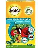 Solabiol Neem Bio-Schädlingsfrei, biologische Schädlingsbekämpfung an Zierpflanzen, Kräutern, Kartoffeln und Gemüse, (auch zur Blattlausbekämpfung geeignet), 60 ml