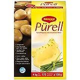 Maggi Pürell Kartoffelpüree (mit entrahmter Milch, authentische Stampfkartoffeln mit feiner Butternote) 1er Pack (1 x 4kg Karton)
