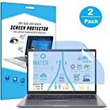 FiiMoo 13.3' Laptop Anti-Blaulicht Schutzfolie, Premium Anti Blue Screen Protector, Blendschutzfolie Augenschutz Displayschutzfolie für 13.3 inch Laptop (2 Pack