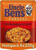Uncle Ben's Express-Reis Mexikanisch Scharf, 6 Packungen (6 x 250g)
