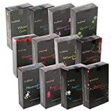 Stamford Black Räucherkegel 144(12Boxen, 12Kegel) gemischte Probierpackung (BOX MIT VERSCHIEDENEN SORTEN).