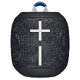 Ultimate Ears Wonderboom 2 Tragbarer Bluetooth-Lautsprecher, 360° Sound, Wasserdicht & Staubdicht, Outdoor-Modus, Verbinden Sie 2 Lautsprecher für Stereo-Sound, 13-Stunden Akkulaufzeit - schwarz