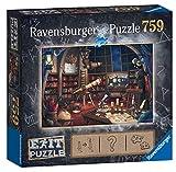 Ravensburger Puzzle 19950 - Sternwarte 759 Teile Exit Puzzle - Premium Qualität für EXIT- begeisterte ab 12 Jahren
