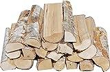 Hoyo Technology GmbH 30 kg Birke trocken Kaminholz Brennholz Feuerholz Grillholz