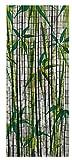 WENKO Bambusvorhang Bamboo, Bambus, 90 x 200 cm, mehrfarbig