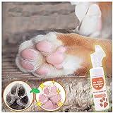 Pfotenreiniger Hundepfoten Reiniger Fußreinigungsbürste Handlicher pfotenreiniger Tragbare Pfotenreinigung Pet Reinigung Tasse Fuß Reinigungsbürste (Orange)