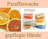 Paraffinwachs 5 x 400gr. Block Orange Paraffinwax