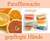 Paraffinwachs 5 x 400gr. Block Orange Paraffinwax
