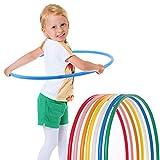 hoopomania® Kinder Hula Hoop Reifen, Durchmesser 65m in blau