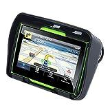 TOOGOO Aktualisiert 256M Ram 8 Gb Flash 4,3 Zoll Moto GPS Navigator Wasserdichtes Bluetooth Motorrad GPS Auto Navigation Karte Von Europa