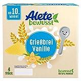 Alete bewusst Dessert Grießbrei Vanille, ab dem 10. Monat, 400g