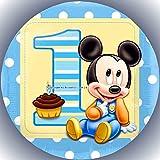 Premium Esspapier Tortenaufleger Party Geburtstag Micky Maus AMA 74
