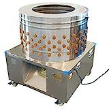 Beeketal 'BRM2250' Geflügelrupfmaschine auf Rollen für schwere Gänse und Puten, Nassrupfmaschine Kapazität: ca. 400-500 Geflügel pro Stunde (max. 32 kg Belastung oder 20 kg pro Tier)