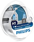 Philips WhiteVision Xenon-Effekt H1 Scheinwerferlampe 12258WHVSM, Doppelset