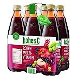 Hohes C Roter Multivitaminsaft - 100% Saft, 6er Pack (6 x 1 l)