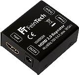 FeinTech VMR00200 HDMI 2.0 Repeater Signal-Verstärker (UHD 4K 60 Hz, HDR) 50 m Reichweite HDCP 2.2 schwarz