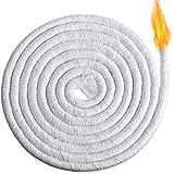 2,5 m langer Baumwoll-Ersatzdocht aus geflochtener Baumwolle, runder Docht für Öllampen und Kerzen, DIY handgemachte Kerzenherstellung Zubehör (8 mm)