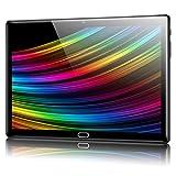 Padgene N10 Tablet 10.1 Zoll, Android 10.0 Ultra Dünn Tablett PC, Octa-Core, 64GB erweiterbar auf bis zu 256GB, 4GB RAM, 4G LTE Phablet, Dual SIM, WiFi, Bluetooth(Schwarz)
