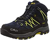 CMP Unisex-Kinder Kids Rigel Mid Shoe Wp Trekking-& Wanderstiefel, Blau (B.Blue-Zafferano 11nd), 38 EU