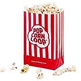 Popcorntüten Popcorn 60 Stück klein Tüten Candy Bar Box für Party Tüte Hochzeit Papier Karton Süßigkeiten Rot Weiß Behälter Snackbox Geschenk Geburtstag Kinder