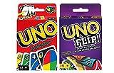 UNO + UNO FLIP, Kartenspiel und Gesellschaftspiel, ab 7 Jahre